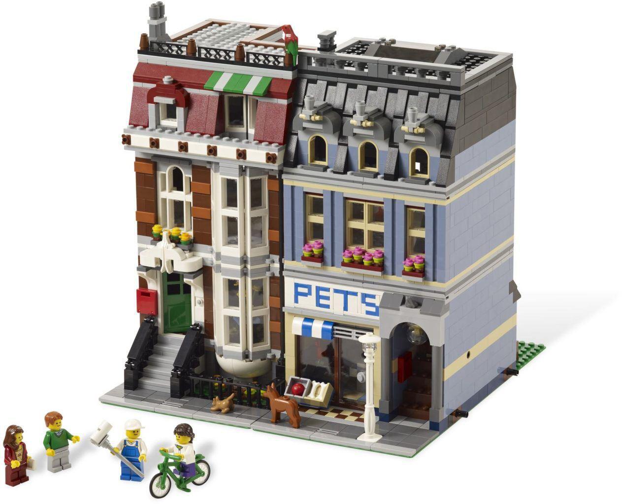 Lego pet shop 10218 kopen online lego shop for Lago shop online