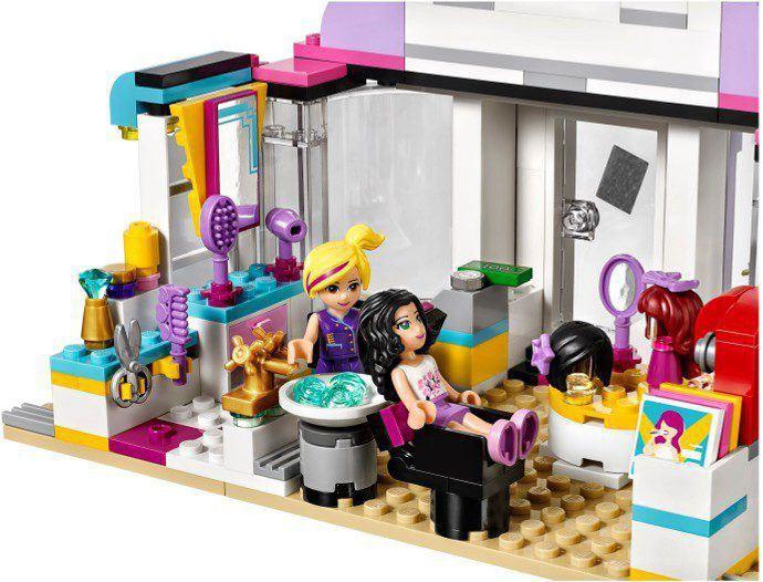 Lego friends 41093 heartlake hair salon kopen online lego shop - Lego friends salon de coiffure ...
