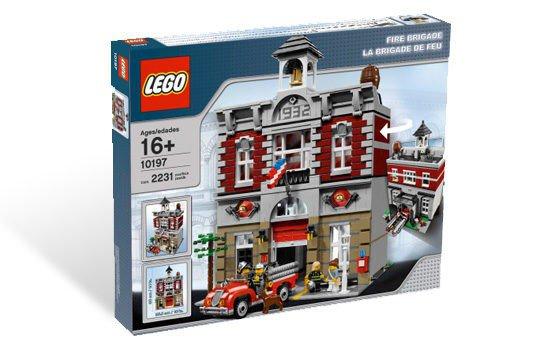 LEGO Fire Brigade 10197