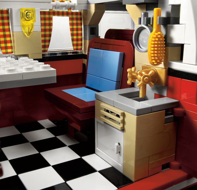 LEGO Volkswagen T1 Camper Van 10220