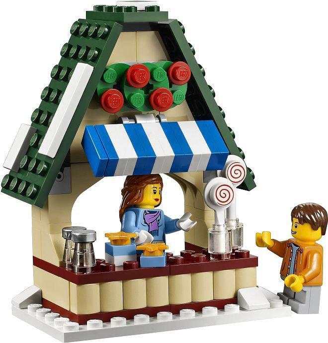 LEGO Kerst Winter Village Market 10235