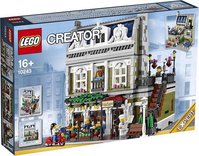 LEGO Parisian Restaurant 10243