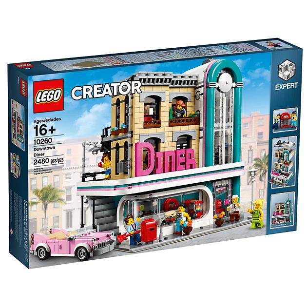 LEGO 10260 Gebouwen: Diner in de stad