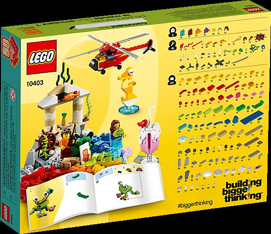 LEGO 10403 Classic: Werelds plezier