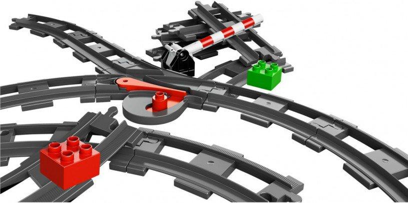 Duplo Trein Rails Accesoires Set 10506