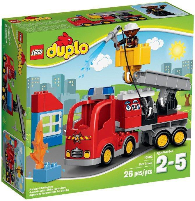 LEGO Duplo - Brandweer Ladderwagen 10592