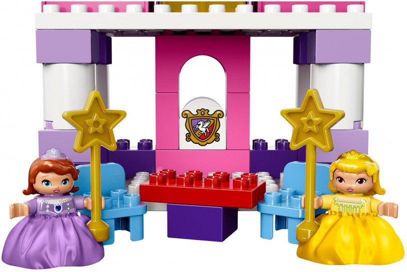LEGO Duplo Sofia het Prinsesje koninklijk kasteel 10595