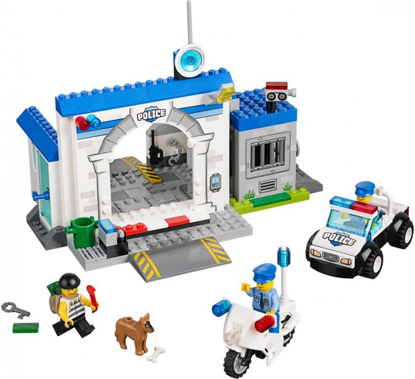 LEGO Juniors - Politie - Grote Ontsnapping 10675