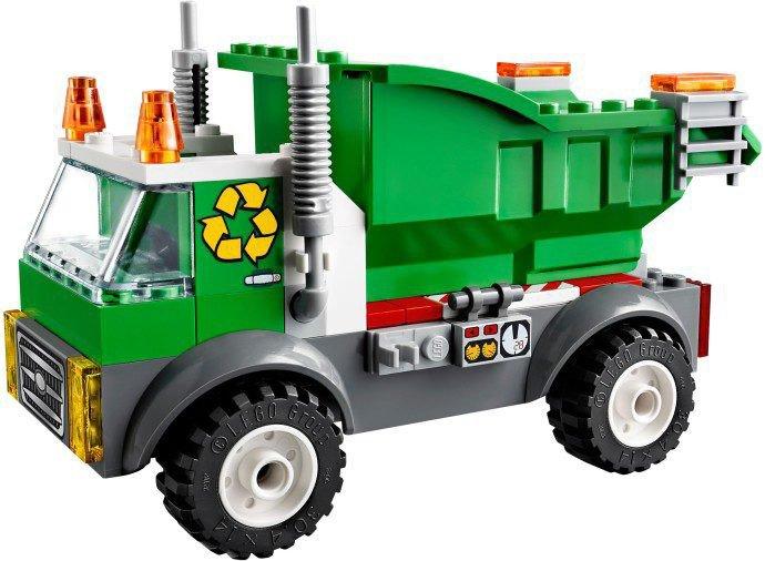LEGO Juniors - Vuilniswagen 10680