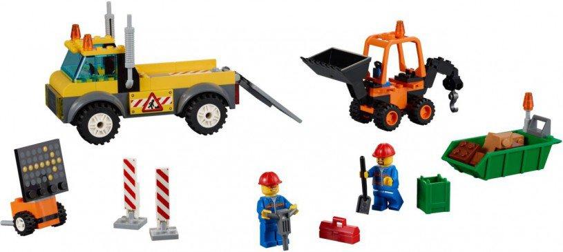 LEGO Juniors - Wegenbouwtruck 10683