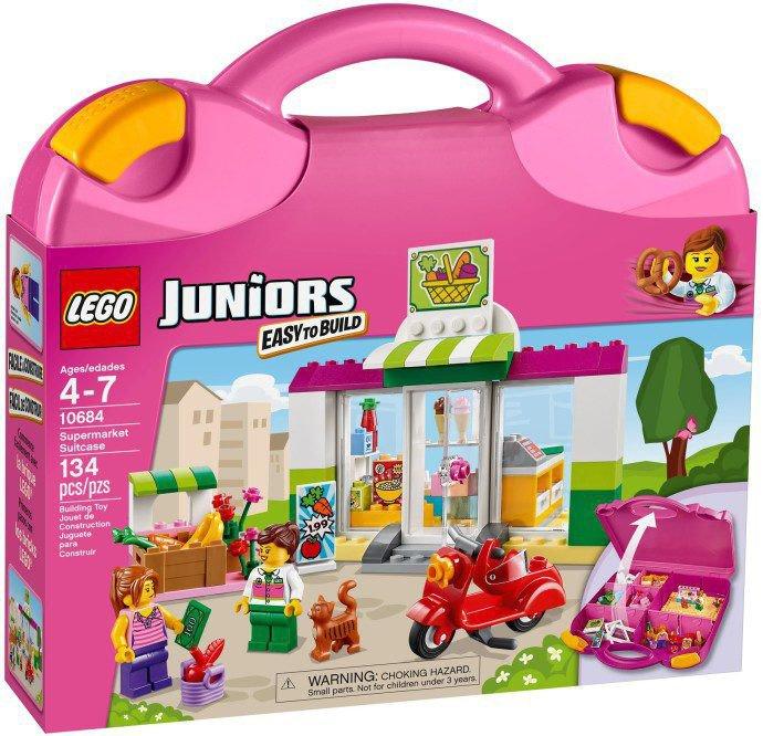 LEGO Juniors - Supermarkt Koffer 10684