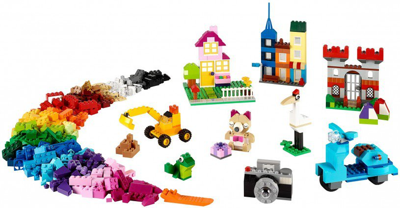 LEGO Classic 10698 Grote Creative Stenen Doos