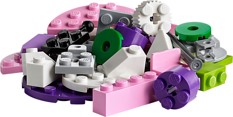 LEGO 10712 Classic: Stenen en tandwielen