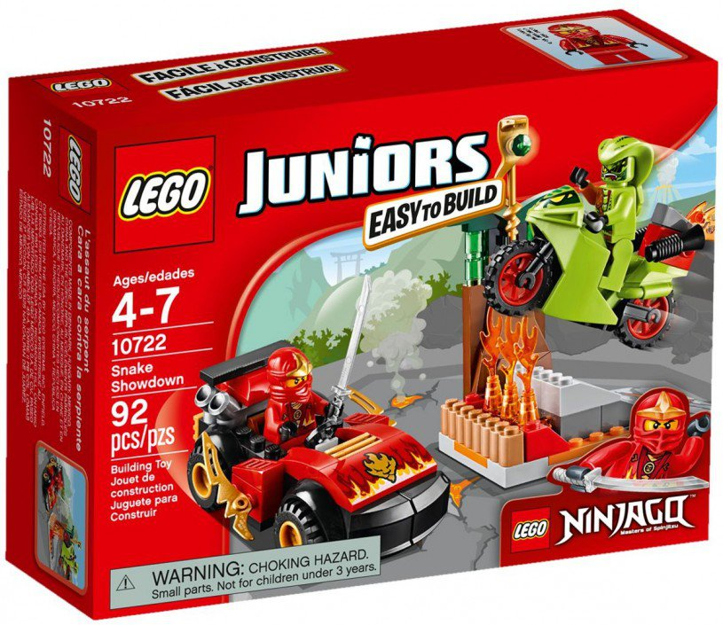 LEGO 10722 Ninjago: Slangenduel