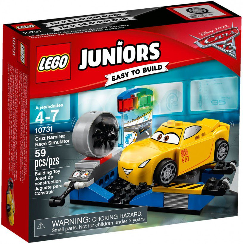 LEGO 10731 Juniors: Cruz Ramirez race-simulator