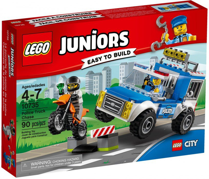 LEGO 10735 Juniors Politietruck achtervolging