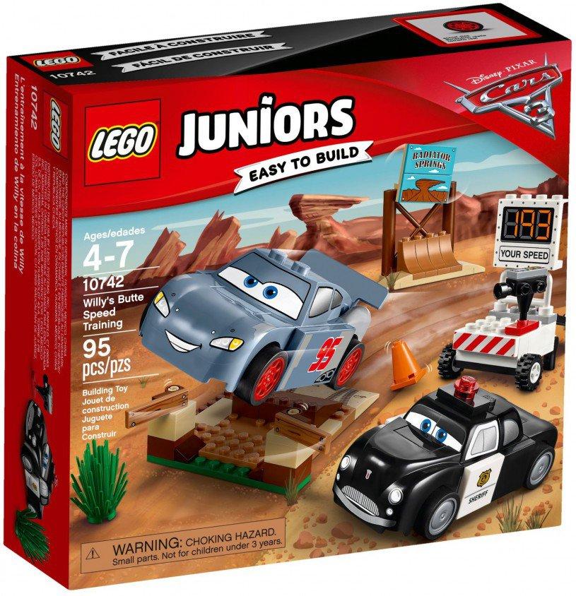 LEGO 10742 Juniors: Willy's Butte snelheidstraining