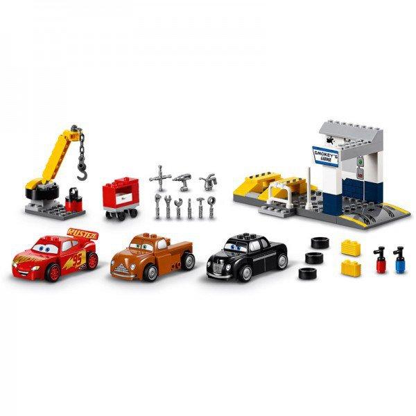 LEGO 10743 Juniors: Smokeys garage