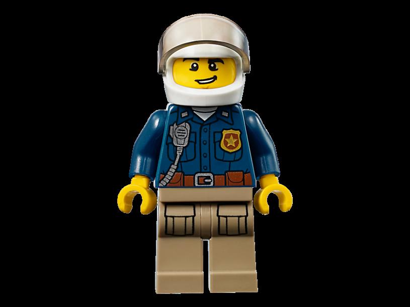 LEGO 10751 Juniors: Politieachtervolging in de bergen