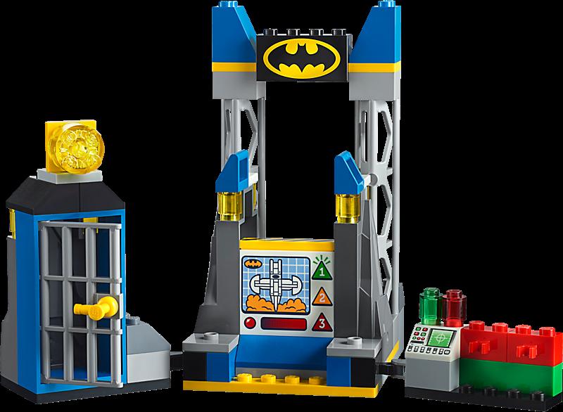 LEGO 10753 DC Comics Super Heroes: The Joker Batgrot aanval