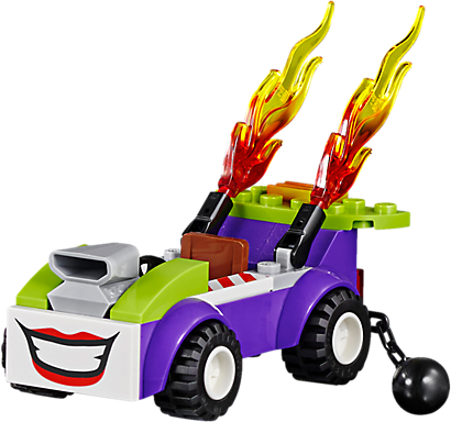 LEGO 10753 DC Comics Super Heroes: The Joker Batgrot aanval