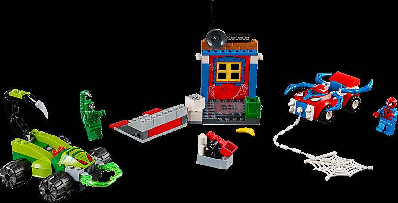 LEGO 10754 Juniors: Spider-Man vs. Scorpion straatduel