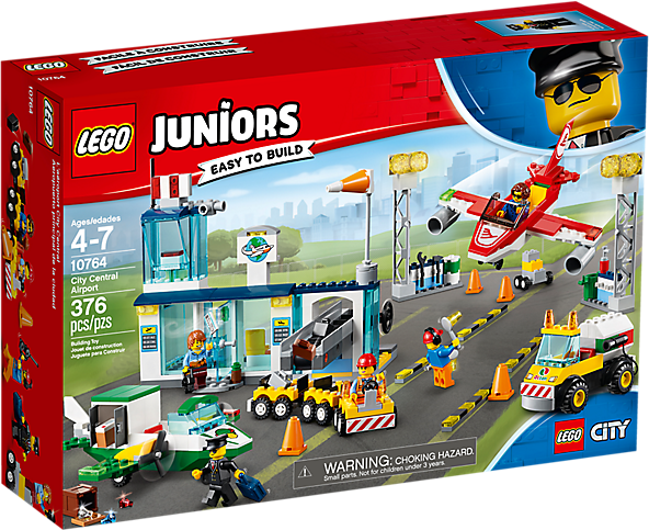 LEGO 10764 Juniors: City Central luchthaven