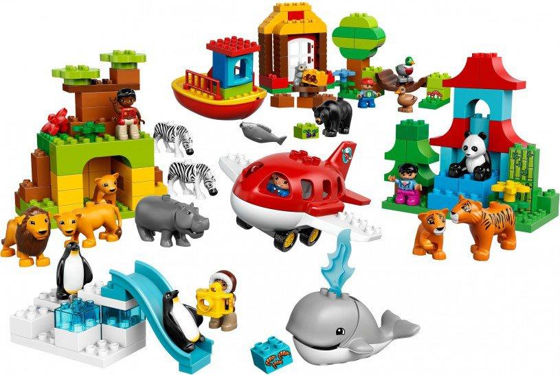 LEGO Duplo Rond de wereld 10805