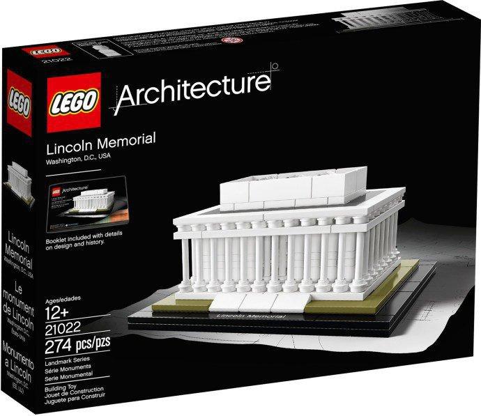 LEGO Architecture - Lincoln Memorial 21022