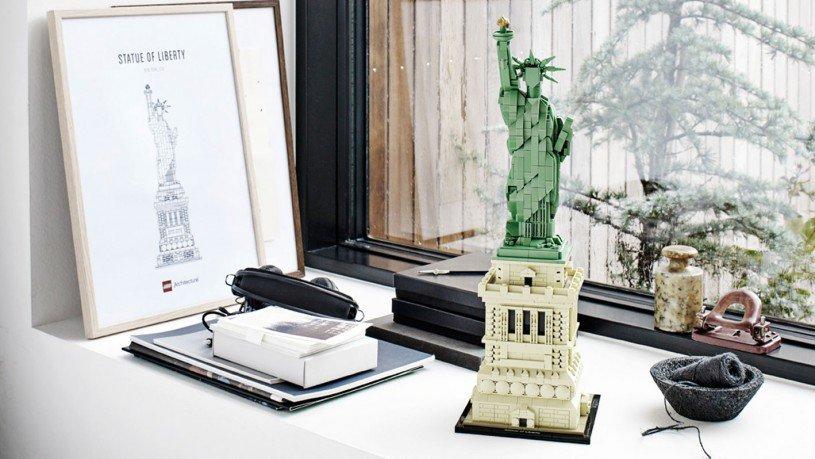 Vrijheidsbeeld Van Lego.Lego 21042 Architecture Vrijheidsbeeld