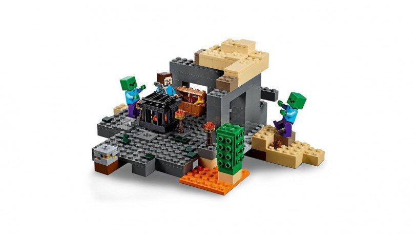 LEGO Minecraft - De Kerker 21119