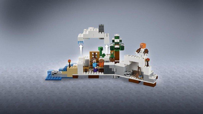 LEGO Minecraft De Sneeuwschuilplaats 21120