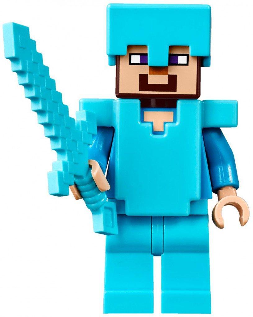 LEGO Minecraft Het End portaal 21124