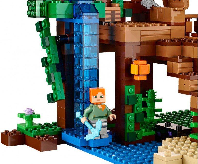 LEGO Minecraft boomhut 21125