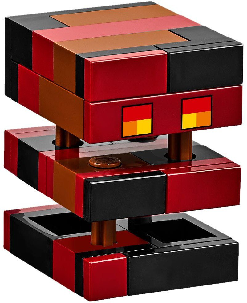 LEGO 21130 Minecraft De Nether spoorweg