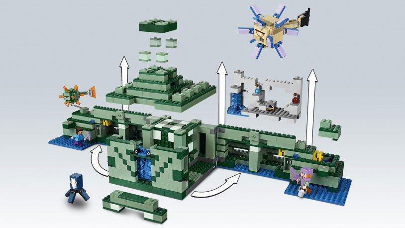 LEGO 21136 Minecraft: Het oceaanmonument