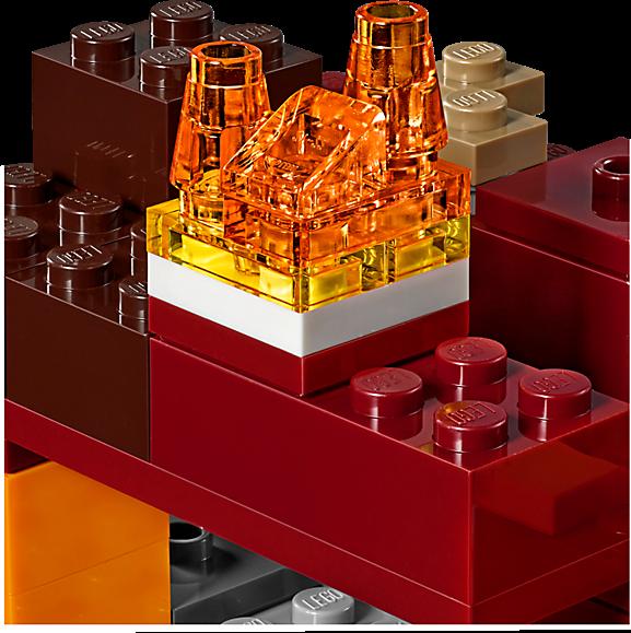 LEGO 21139 Minecraft: Het onderwereldgevecht