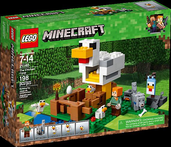 LEGO 21140 Minecraft: Het kippenhok