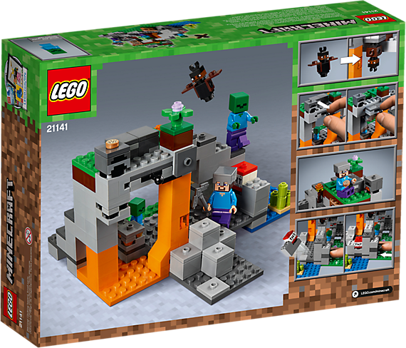 LEGO 21141 Minecraft: De zombiegrot