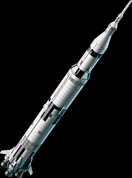 LEGO 21309 Ideas: LEGO® NASA Apollo Saturn V