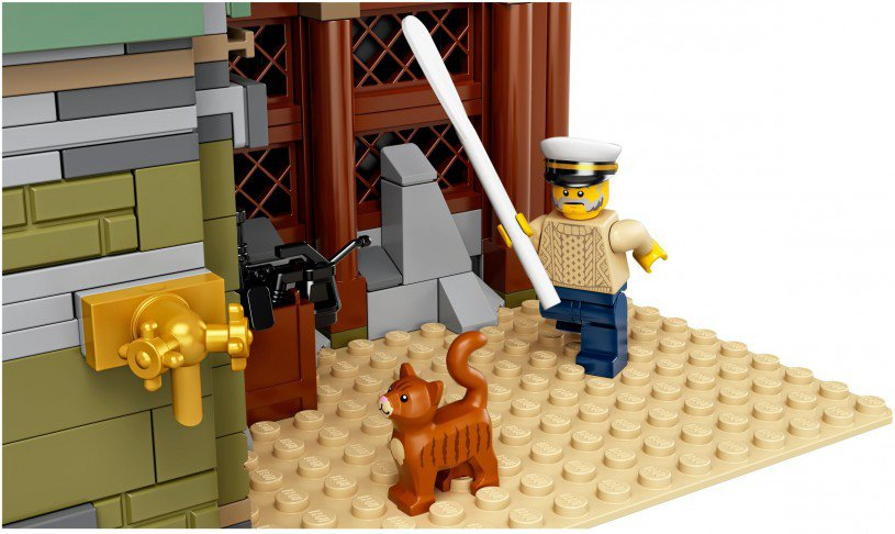 LEGO 21310 Ideas: Oude viswinkel