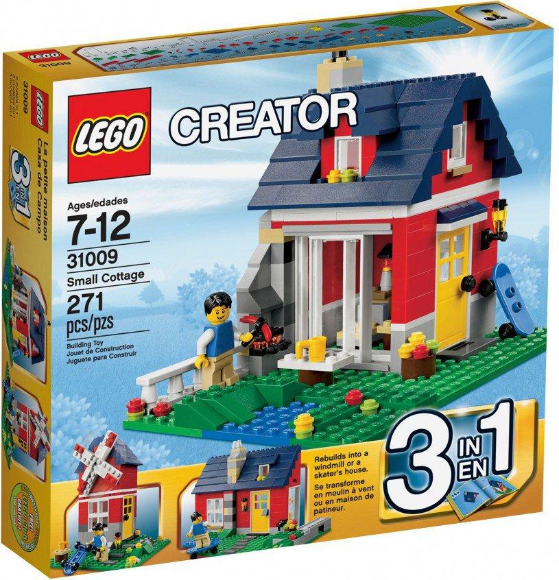 LEGO Creator Vakantiehuisje 31009