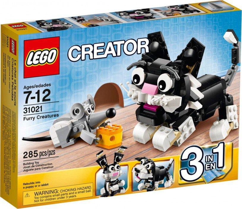 LEGO Creator - Snoezige Dieren 31021