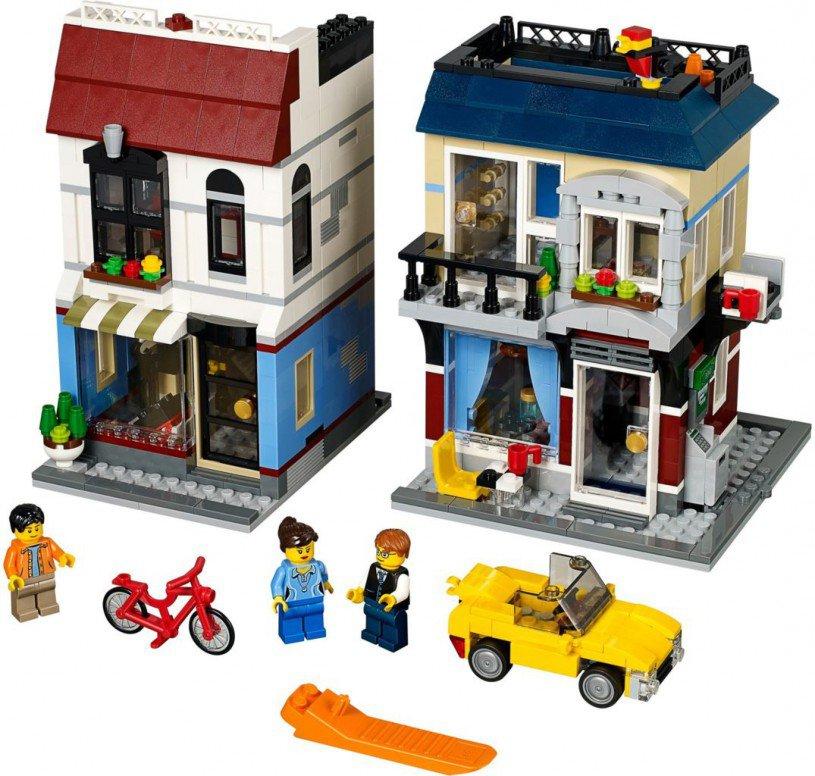 LEGO Creator Fietswinkel  & Cafe 31026