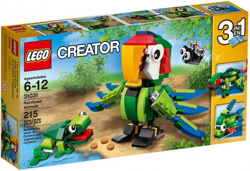 LEGO Creator - REGENWOUDDIEREN 31031