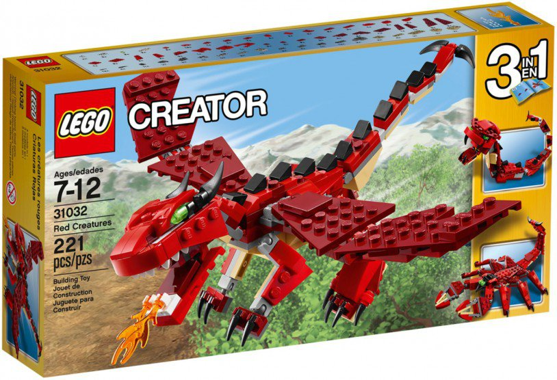 LEGO Creator - Rode Dieren 31032