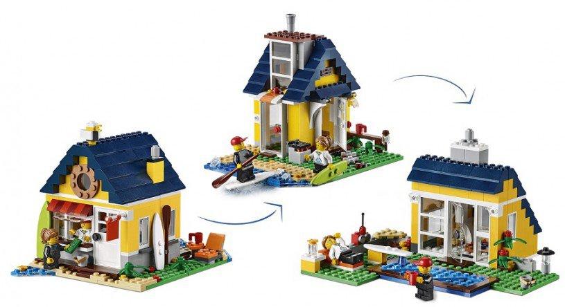 LEGO Creator Strandhut 31035