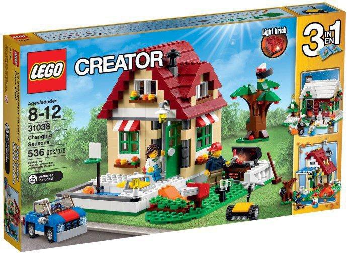 LEGO Creator Verandering Van De Seizoenen 31038
