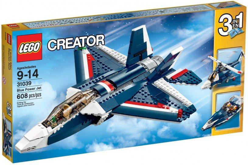 LEGO Creator - Blauwe Straaljager 31039