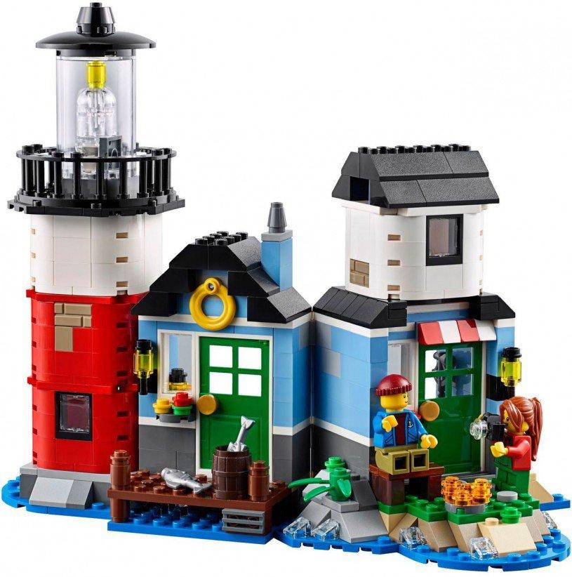 LEGO 31051: Vuurtoren-kaap